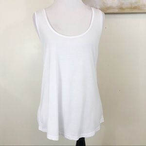 Paige White Loose Fit Tank Top